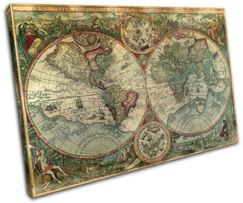 Old World Atlas Latin Maps Flags - 13-1780(00B)-SG32-LO